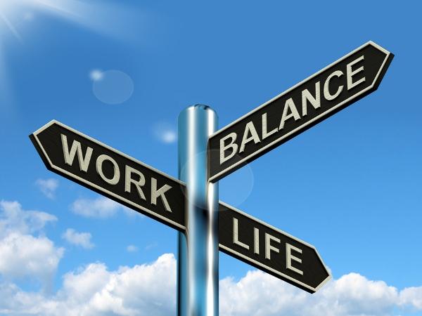 bigstock-Work-Life-Balance-Signpost-Sho-32859902