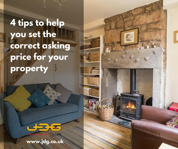 4 to help you set the correct asking price for your property